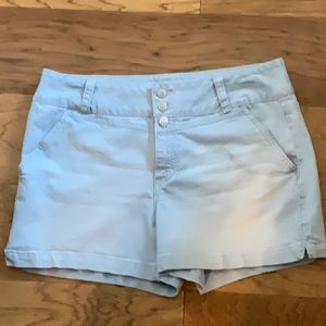 Blue Spice Lined Shorts SZ- 17
